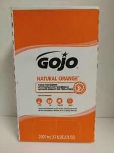 GOJO 7255 Natural Orange Pumice Hand Cleaner Dirt Oil Paint Grease Refill