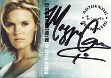 Lost Season 1 Maggie Grace as Shannon Rutherford A3 Auto Card