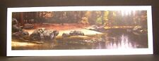 """Stephen Lyman """"Riparian Riches"""" Limited Edition Signed Numbered River Scene"""