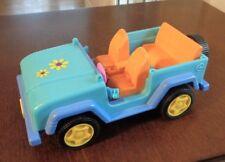 TNEEZ Blue Daisy CAR SUV On The Go Bandai 2003 Play Toy Car Girls