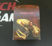 1 Empty Deck Box - GIDEON JURA- PLANESWALKER  - NM/SP Condition - Magic MTG FTG
