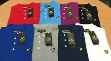 Lyle and Scott Short Sleeve Polo Shirt  for MEN Winter !!!!!