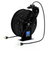 GRACO 24Y860 Single Industrial Receptacle 35' SD Series Reel, 16AWG, 13Amp