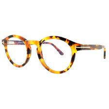 Tom Ford FT5529-B 056 Havana Round Optical Frames Eyeglasses