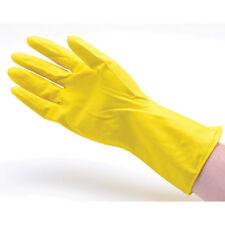 "San Jamar-Chef Revival 620 Rubber Gloves 12"" Yellow, Pair, Size Medium"