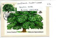 GB - PHQ card (516) 1974 -  Trees - Front - FDI/SHS - single card