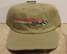 DODGE MOTORSPORTS RACING VINTAGE CAP NEW OLD STOCK NASCAR
