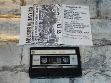 U2 - Live In Boston 1981 Live Recording plus Boy Demos 83 / Cassette Album /4409