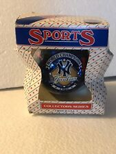NIB NY Yankees 1996 World Champions Christmas Ornament Sports Collectors Series