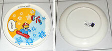 Piatto ceramica OLIMPIADI TORINO 2006 Mascotte Neve e Gliz Mascot Olympic games