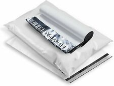 White Poly Mailers Shipping Envelopes Self Sealing Plastic Mailing Bags 25 Mil