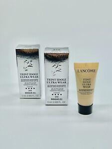 2x Lancome Teint Idole Ultra Wear 24H foundation SPF15 - 310 Bisque (C) Mini 5mL
