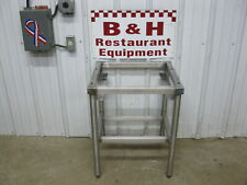 22 X 20 Stainless Steel Heavy Duty Berkel Mb Bread Slicer Equipment Stand Table