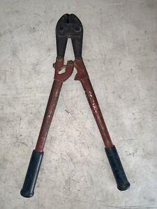 """Ridgid 18"""" Center Cut Bolt Cutter Japan Made Tool"""