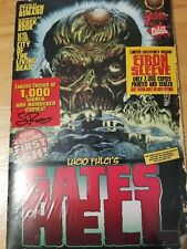 GATES OF HELL #1 AUTOGRAPHED Lucio Fulci COMIC BOOK NEW IN PLASTIC NM ZOMBIE