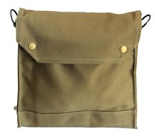 INDIANA JONES WWII Style Adventure Satchel British Mark VII Gas Mask Bag Replica