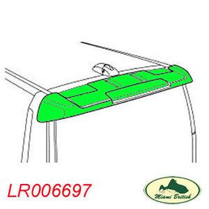 LAND ROVER REAR TAIL GATE ROOF SPOILER KIT PRIMED LR3 LR4 LR006697 OEM NEW