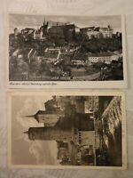 AK 2 x alte Ansichtskarte Bautzen Schloss Ortenburg Häuser Spreewehr
