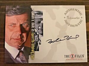Inkworks The X-Files Connections William B Davis Autograph Cigarette Smoking Man