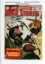 STAR SPANGLED WAR STORIES #91 - Signed by RUSS HEATH - MADEMOISELLE MARIE - RARE