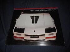 1983 Chevy Chevrolet Camaro RS Z28 Color Brochure Catalog Prospekt