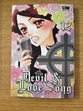 MANGA DEVIL & LOVE SONG 12 - MIYOSHI TOMORI - ED. FLASHBOOK - NUOVO DA MAGAZZINO