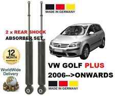 VW GOLF PLUS 2006 > 1.2 1.4 1.6 1.9 2.0 NUEVO 2x AMORTIGUADORES TRASEROS SET