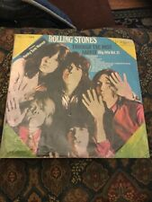 Rolling Stones Lp Through The Past Darkly vol 2 First Record Label Taiwan