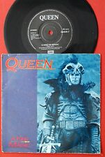 """QUEEN A KIND OF MAGIC/A DOZEN RED ROSES FOR MY DARLING 1986 RARE UK PROMO 7"""" PS"""