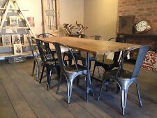 7Ft Vintage Style Metal Steamer  Industrial Steampunk Dinning Table..