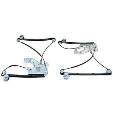 2x Power Window Regulators W/o Motor for BMW E39 525i 530i 540i Front Left&Right