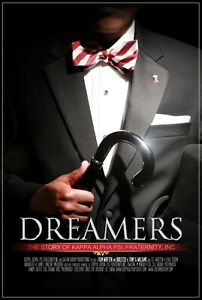 DREAMERS - DVD The Story of Kappa Alpha Psi Fraternity, Inc. Director SIgned