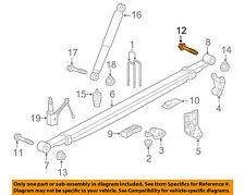 GM OEM Rear Suspension-Shackle Bolt 11588857