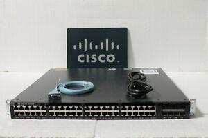 Cisco WS-C3650-48PS-S Catalyst 3650 48 Port PoE 4x1G Uplink IP Base Same Day Shi