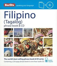 Berlitz Filipino (Tagalog) Phrase Book & CD *IN STOCK IN MELBOURNE - NEW*