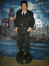 BARBIE THE ADDAMS FAMILY KEN AS GOMEZ, DOLL STAND & BACKDROP DISPLAY