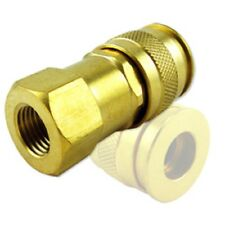 UNIVERSAL BRASS SNAP AIR TOOLS COUPLER QUICK DISCONNECT HOSE CONNECTOR FITTING