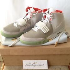 NIKE AIR YEEZY 2 NRG PLATINUM WOLF GREY US11 UK10 508214-010 ZEN Kayne west