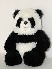People Pals Panda Plush Aurora World Stuffed Animal Toy Soft Lovey White Blk EUC