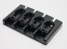 Brand new 4 string Hipshot A style aluminium black bass bridge 0.656 16,5mm