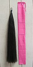 "Show Horse Tail Extension NEW BLACK 1/2# 36"" by KATHYS TAILS FEI USDF AQHA Legal"