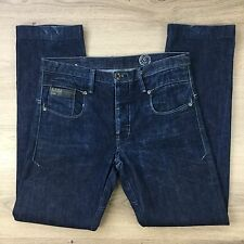 G-Star Raw 3301 Blade Slim Men's Jeans Size 30/34 Actual W32 L30.5 (YY14)