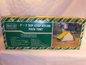 Vintage Western Field7'x7' RipStop Nylon Tent