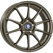 Alloy Wheels Sparco Assetto Gara Bronze Smart Fortwo Forfour 453 17 Inch