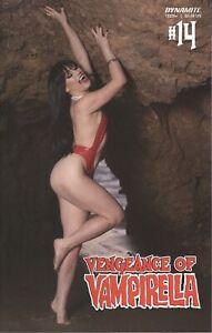 VENGEANCE OF VAMPIRELLA #14 COVER D HOLLON COSPLAY VF/NM 2021 DYNAMITE HOHC