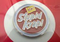 Ben Frost New Stupid Krap! Enamel Lapel Pin Limited Edition 2016