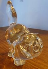 VILLEROY & BOCH CRYSTSL GLASS CAT (STANDING )