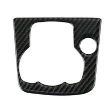 Carbon Fiber Center Console Multimedia Panel Sticker For Mazda 3 Axela 2013-2016