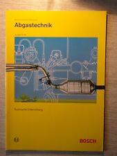Bosch Technische Unterrichtung Abgastechnik Motorsteuerung für Ottomotoren