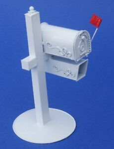 Miniature Dollhouse Rual Country Mail Box 1:12 Scale New